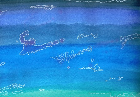 Inseln im Meer